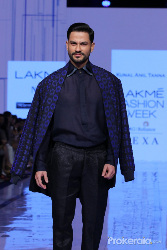 Actor Kunal Khemu at Lakme Fashion Week 2020