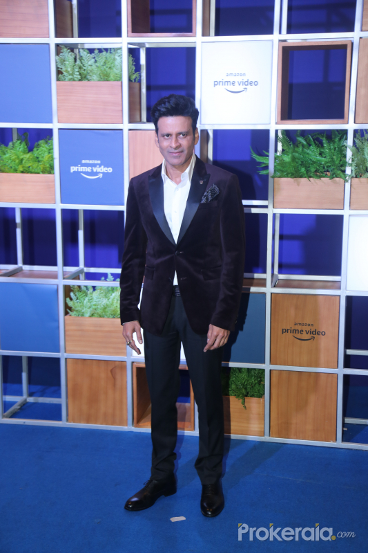 Actor Manoj Bajpai attended Jeff Bezos Welcome Bash.
