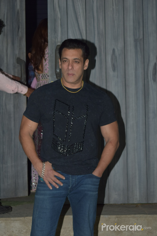 Actor Salman Khan in Promoting Function of Movie Dabangg3 at bigg boss house in goregaon