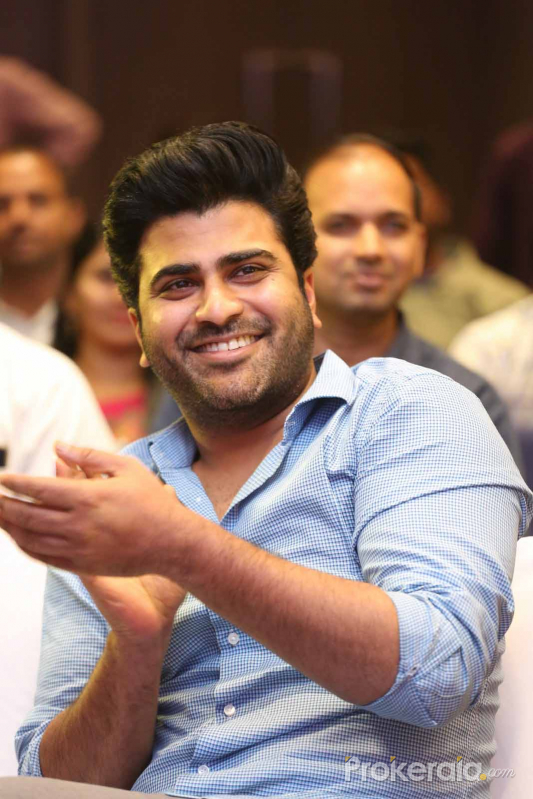Actor Sharwanand at promotion of his Movie jaanu