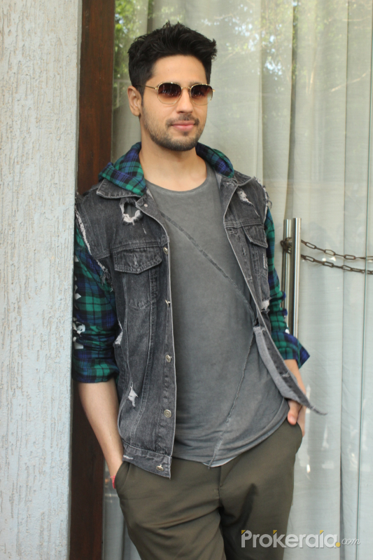 Actor Sidharth Malhotra poses photo for his upcoming Film Marjaavaan