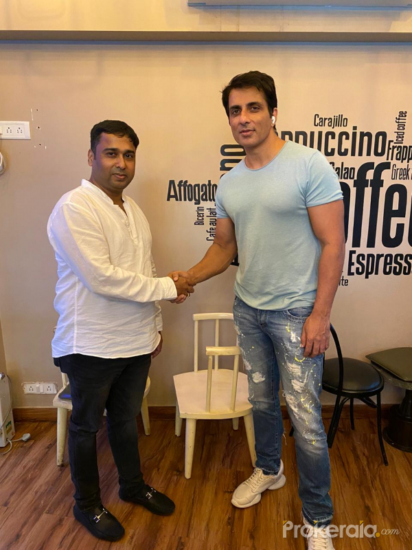 Actor Sonu Sood Appointed as Brand Ambassador of Hyderabad Based ISM EduTech - Famous South Music Composer R P Patnaik also Attends Press Meet