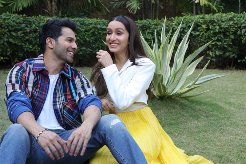 Actor Varun Dhawan and Shraddha Kapoor at the Promotion of their film Street Dancer 3.