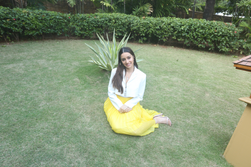 Actress Shraddha Kapoor at the Promotion of her film Street Dancer 3.