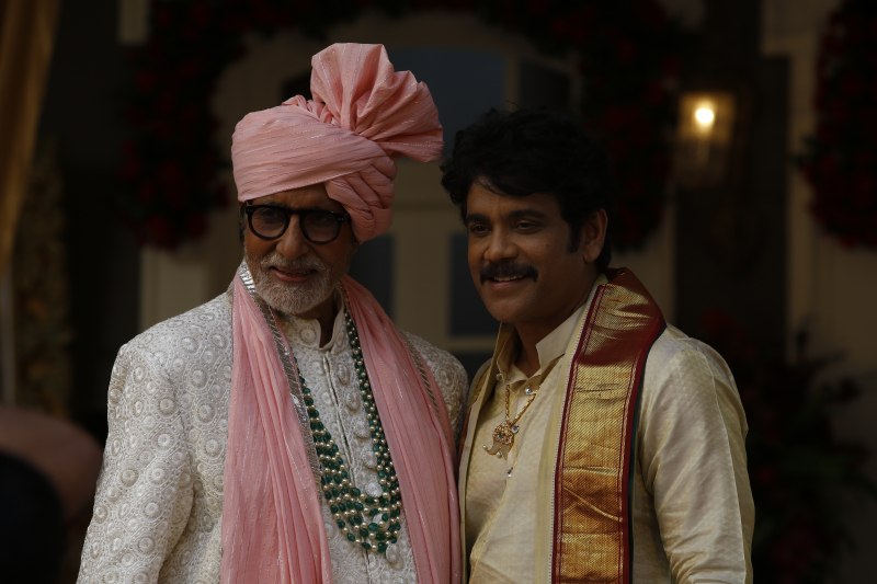 Actor Nagarjuna at Kalyan Jewellers advertisement shoot in Mumbai