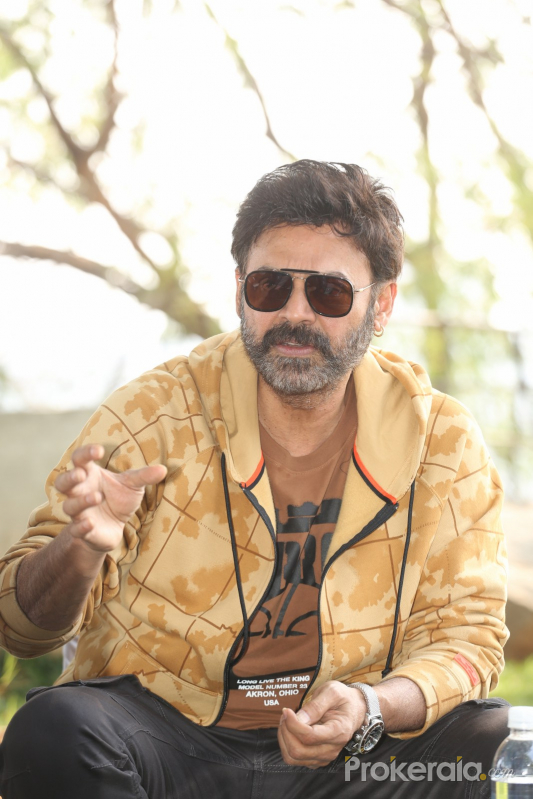 Actor Venkatesh During the Photoshoot.