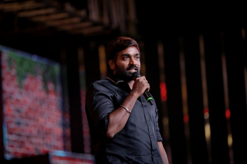 Actor Vijay Sethupathi attends Master Audio Launch Event