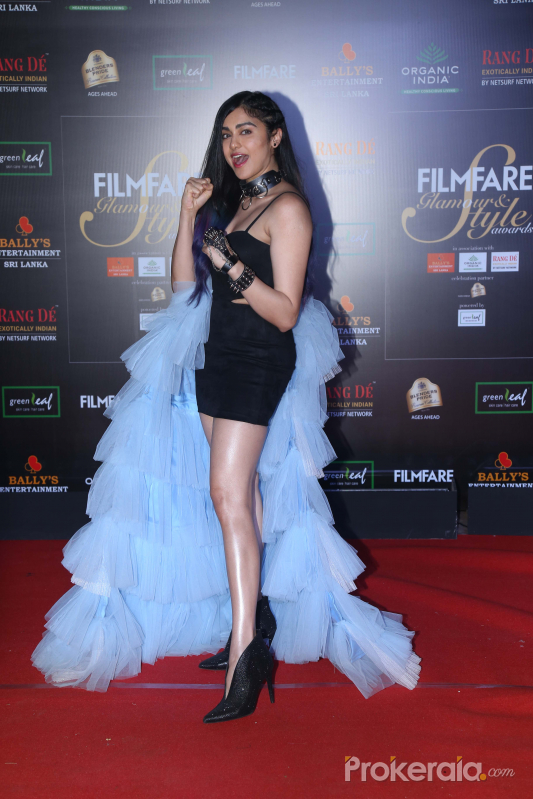 Actress Adah Sharma in Filmfare Glamour And Style Awards 2019.