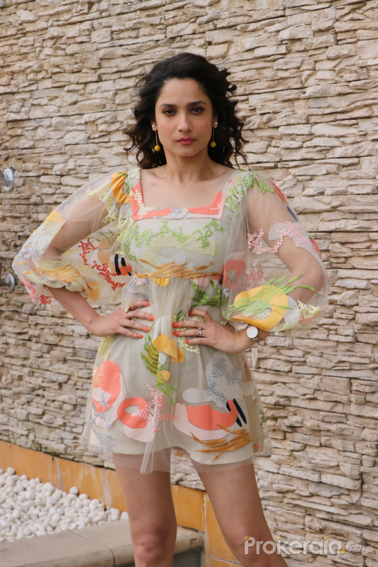 Actress Ankita Lokhande at promotion of her film Baaghi 3