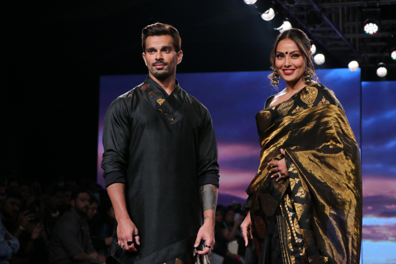 Actress Bipasha Basu at Lakme Fashion Week Day