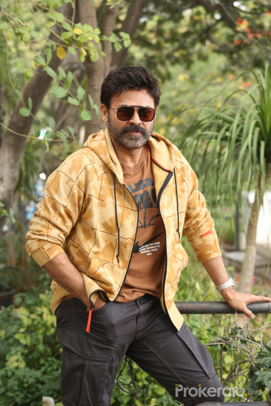 Actor Daggubati Venkatesh During an  Interview