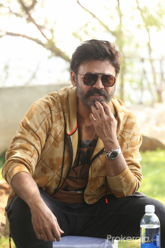 Actor Daggubati Venkatesh During the Photo Section.