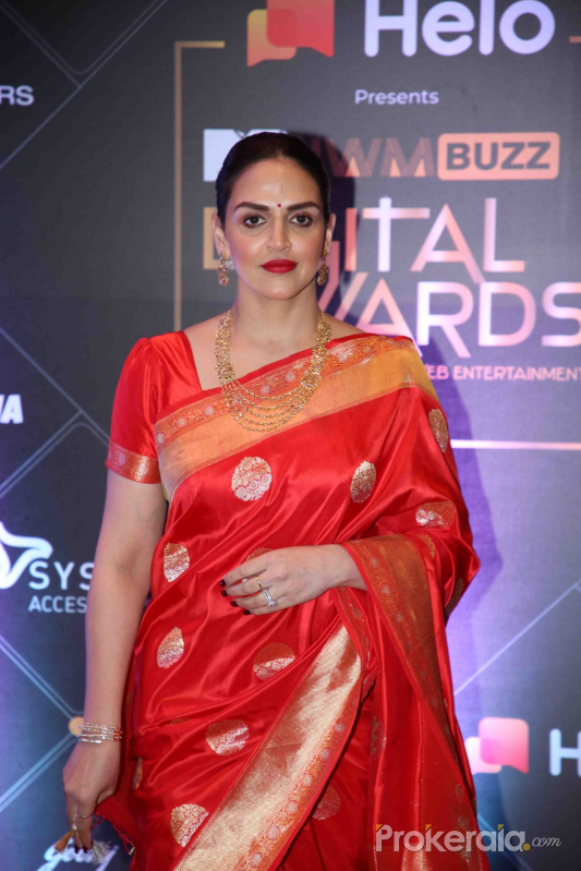 Actress Esha Deol at MTV - IWMBuzz Digital Awards 2019