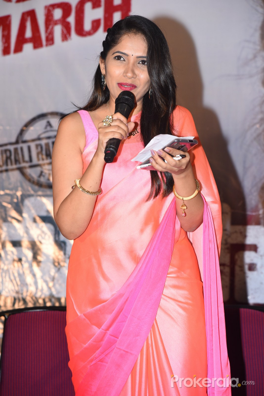 Actress indu at Prema Pipasi Movie Pre-Release Event