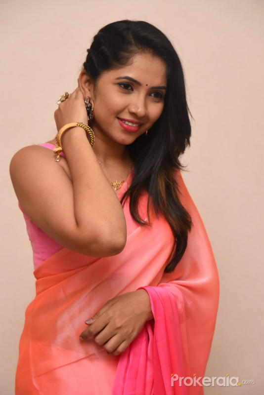 Actress Indu poses for a photo