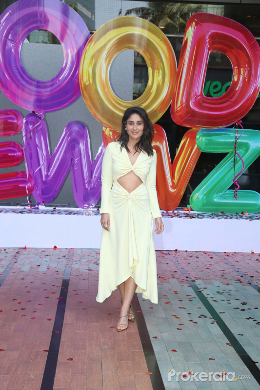 Actress Kareena Kapoor in Trailer launch of New Film Good Newwz at Cinepolis