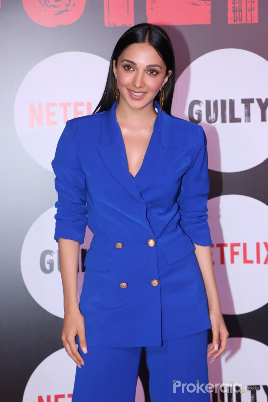 Actress Kiara Advan iat the special screening of web film Guilty