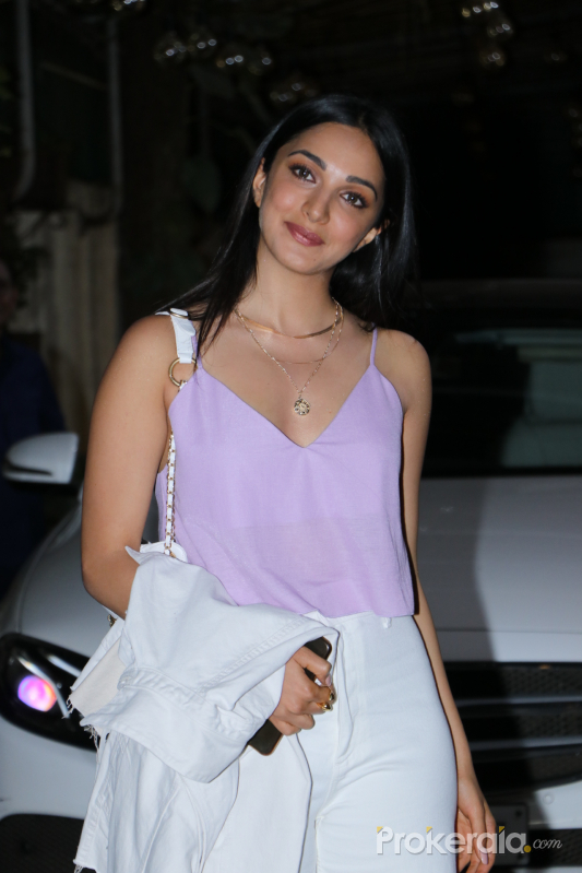 Actress Kiara Advani at Screening of movie Guilty