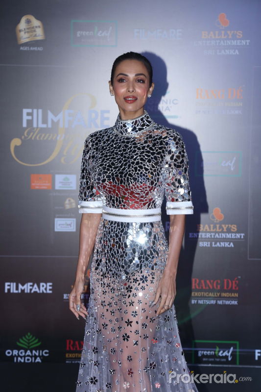 Actress Malaika Arora in Filmfare Glamour And Style Awards 2019.