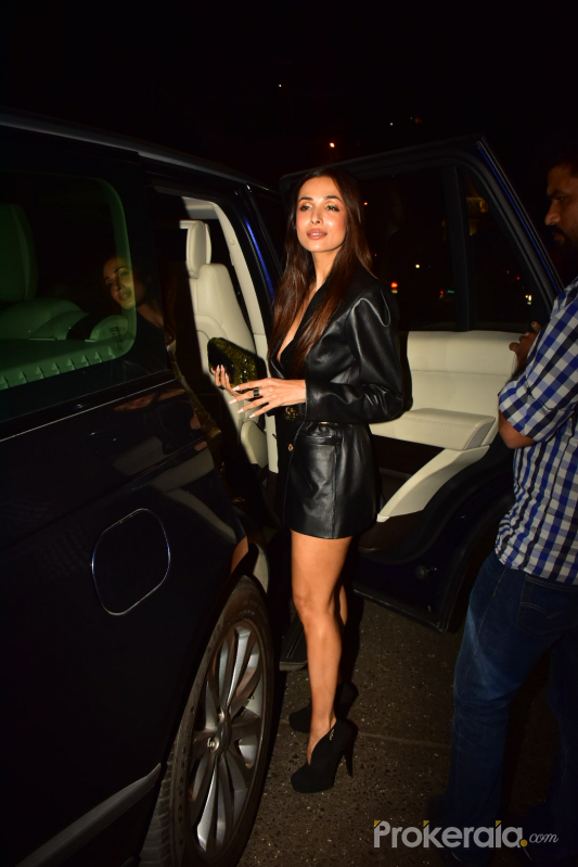 Actress Malaika Arora's son's birthday party