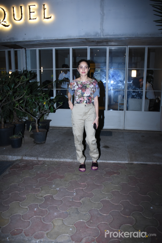 Actress Nushrat Barucha spotted at sequel in bandra.