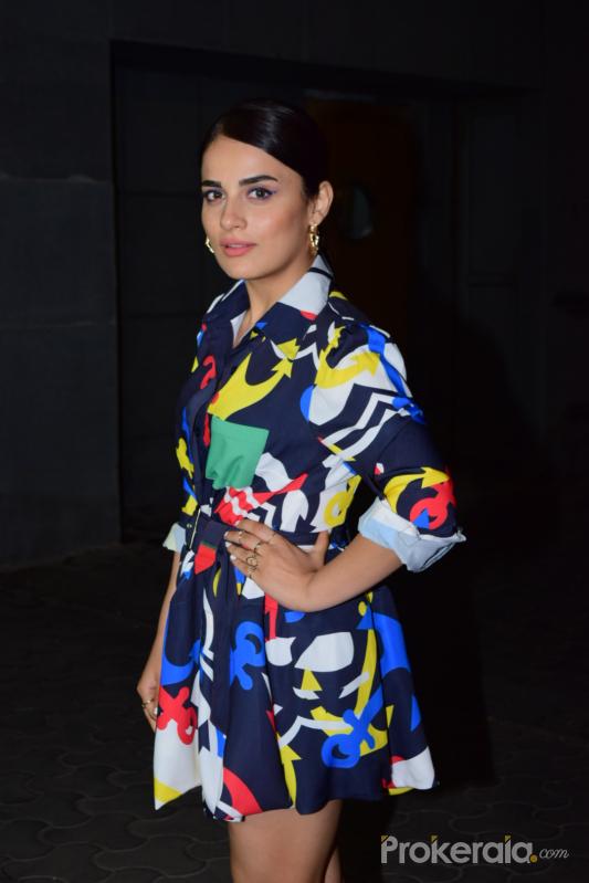 Actress Radhika Madan during the screening of film Thappad at pvr icon in andheri