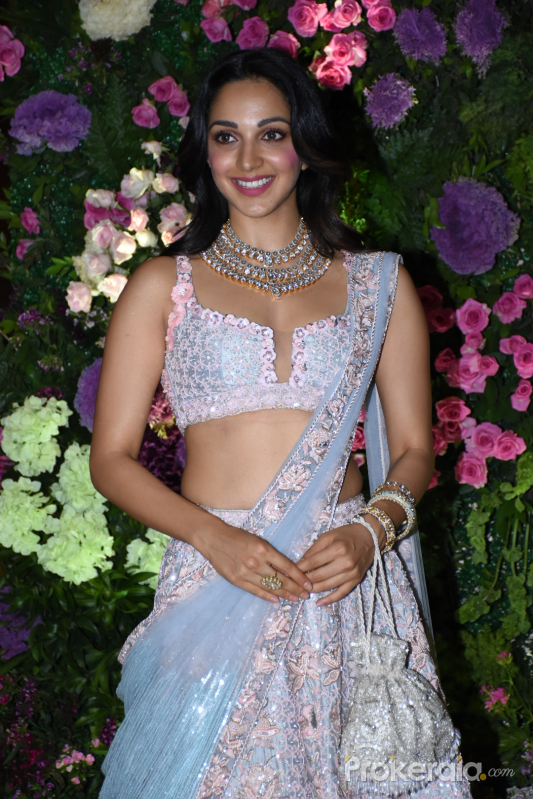 Actress Kiara Advani at Arman Jain wedding reception