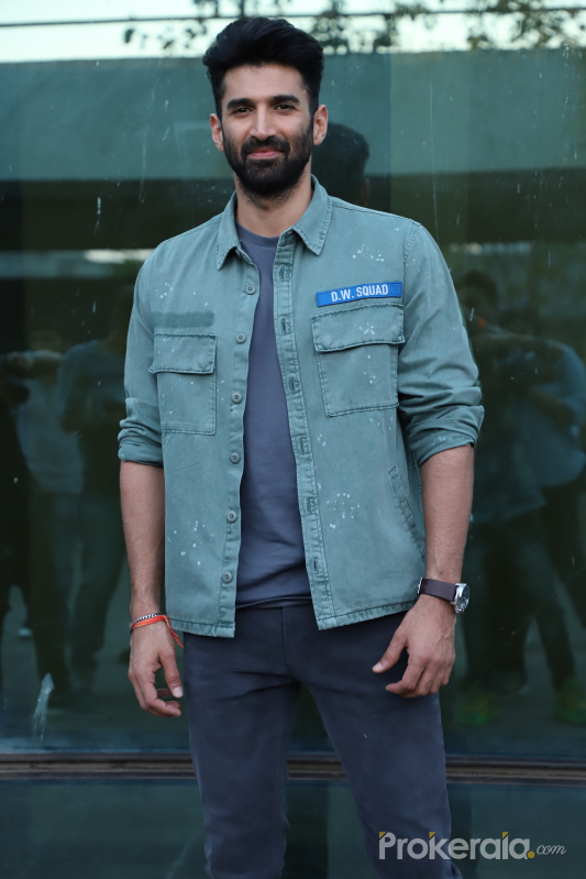 Actor Aditya Roy Kapoor at Luv Films office in andheri