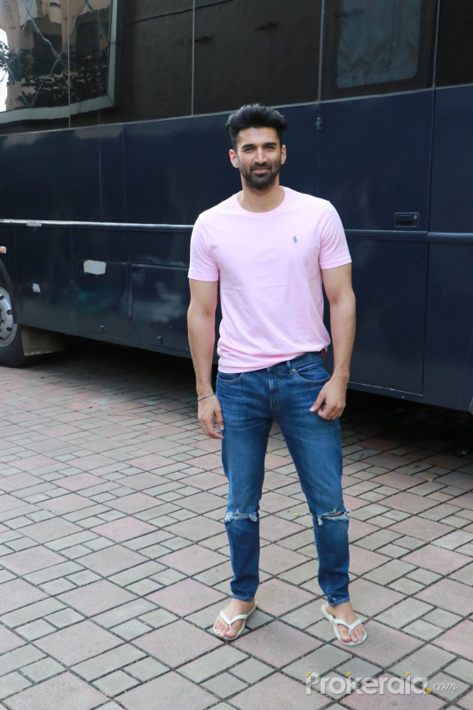 Actor Aditya Roy Kapur at Promotion of his Film Malang