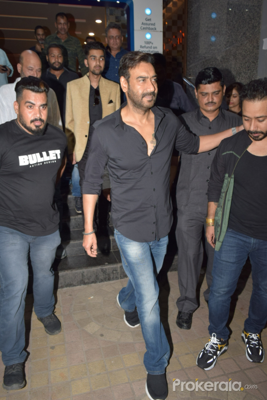 Ajay Devgn- Screening of film Ujda Chaman at pvr ecx in andheri