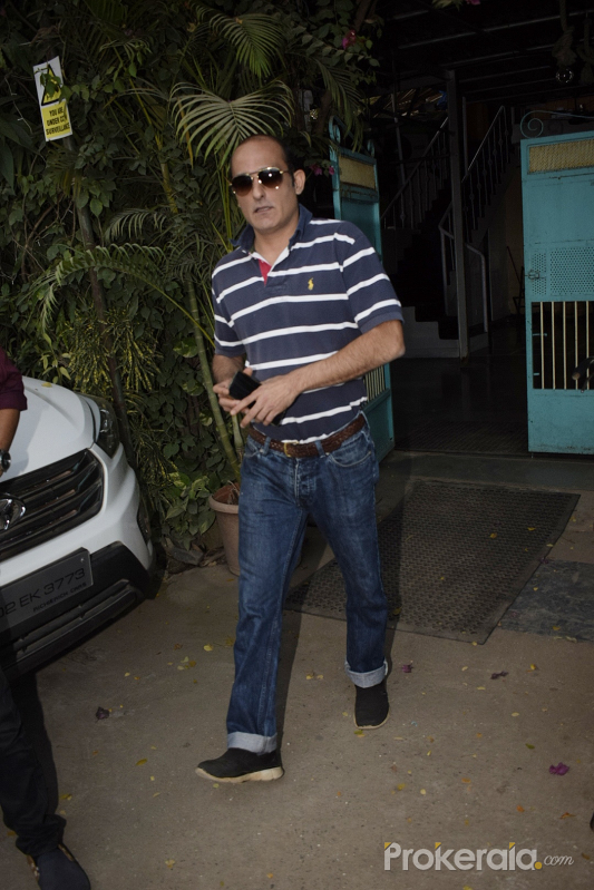 Akshay Khanna spotted at physioflex in Versova
