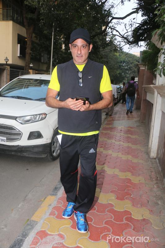 Akshaye Khanna spotted At Khar