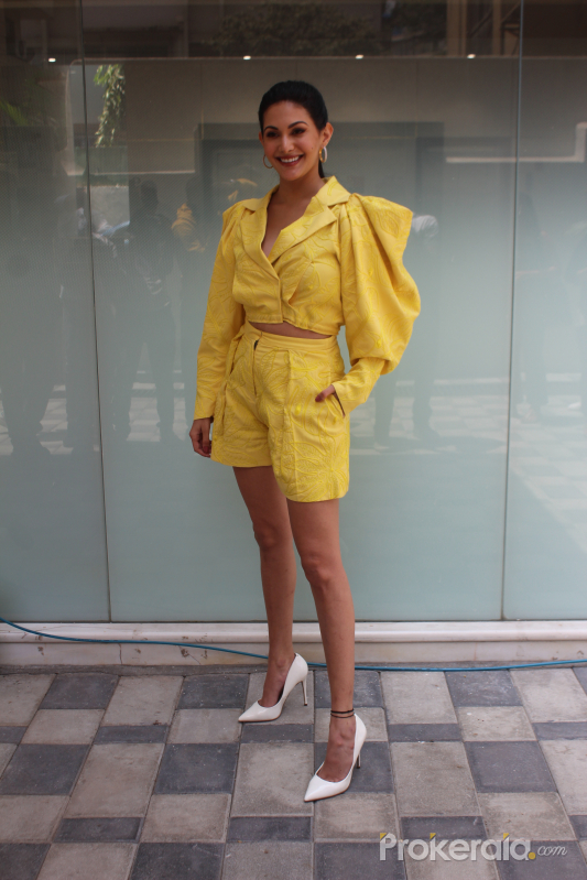 Amyra Dastur  Spotted At T Series Office