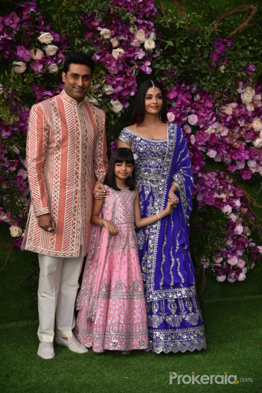 Bachchan Family @   Ambani wedding