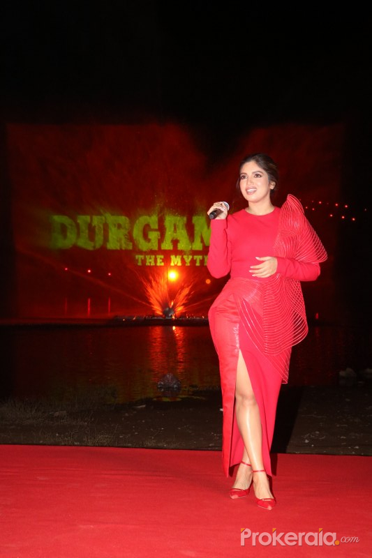 Bhumi Pednekar at Durgamati promotion