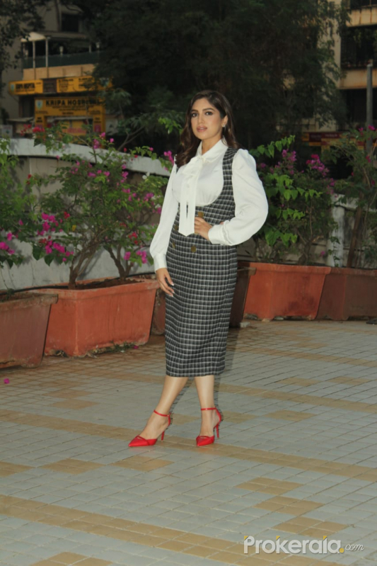 Bhumi Pendekar Spotted At Versova