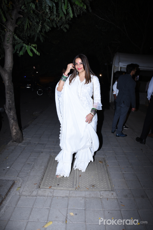 Bipasha Basu and Karan Singh Grover with family spotted at Bandra Kurla Complex