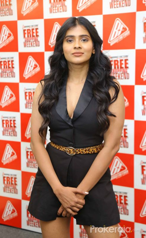 Actress Hebah Patel in Brand Factory's  Free Shopping Weekend Promotion.