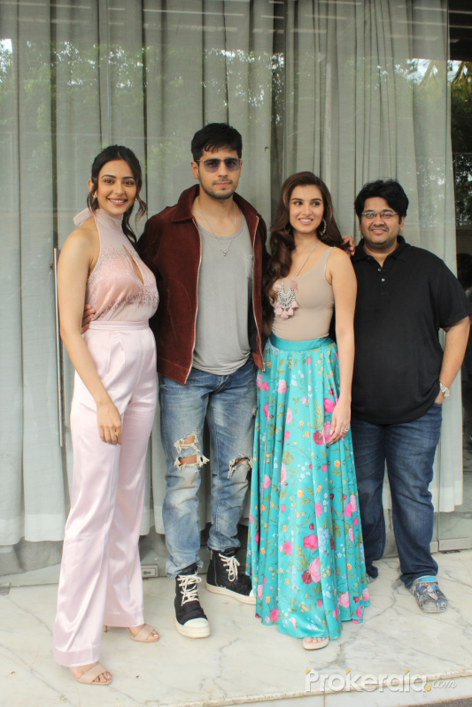 Marjaavaan cast Spotted at jw marriott juhu