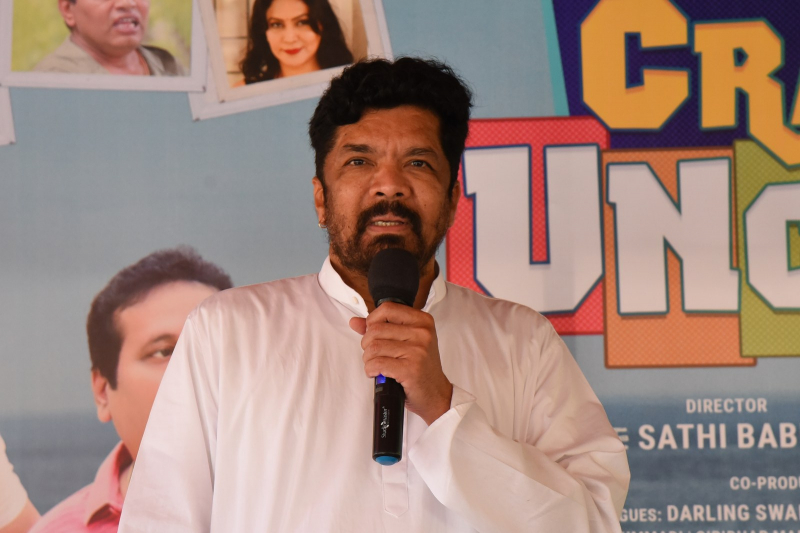 Posani Krishna Murali join Crazy Uncles Movie Press Meet