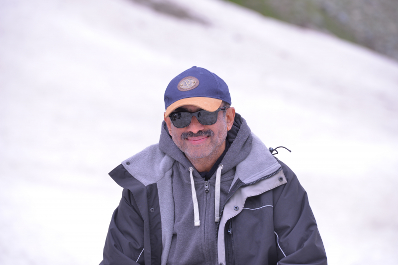 Actor Venkatesh in Shooting of Movie Venky Mama.