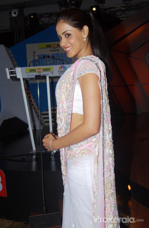 Genelia D'Souza in saree