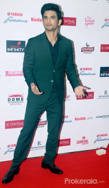 Grand Finale of Miss Diva at NSCI worli with Sushant Singh Rajput