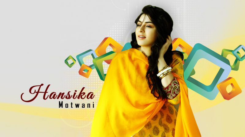 Hansika Motwani Hot Wallpapers  Indian Actress Hansika Sexy Wallpapers  Hansika Hot -4495