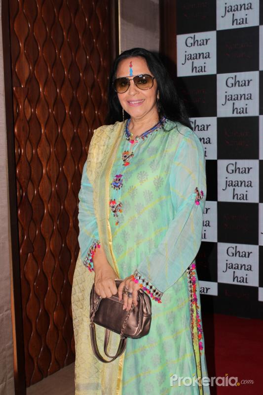 Ila ArunAt Launch Of Music Ghar Janaa Hai