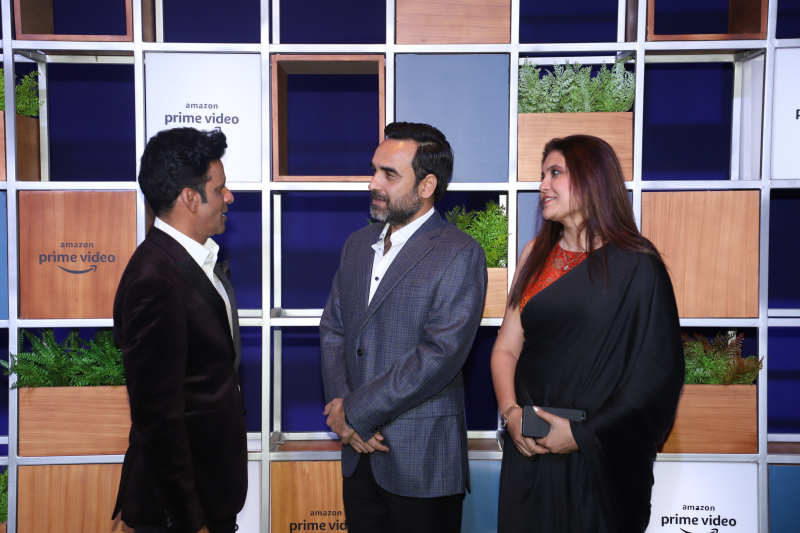 Actor pankaj Tripathi attended Jeff Bezos Welcome Bash