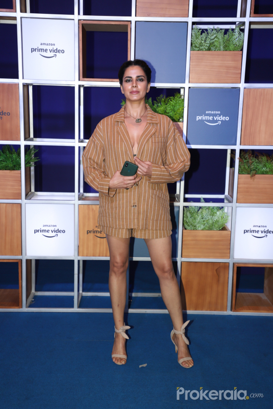 Actress Kirti Kulhari attended Jeff Bezos Welcome Bash.