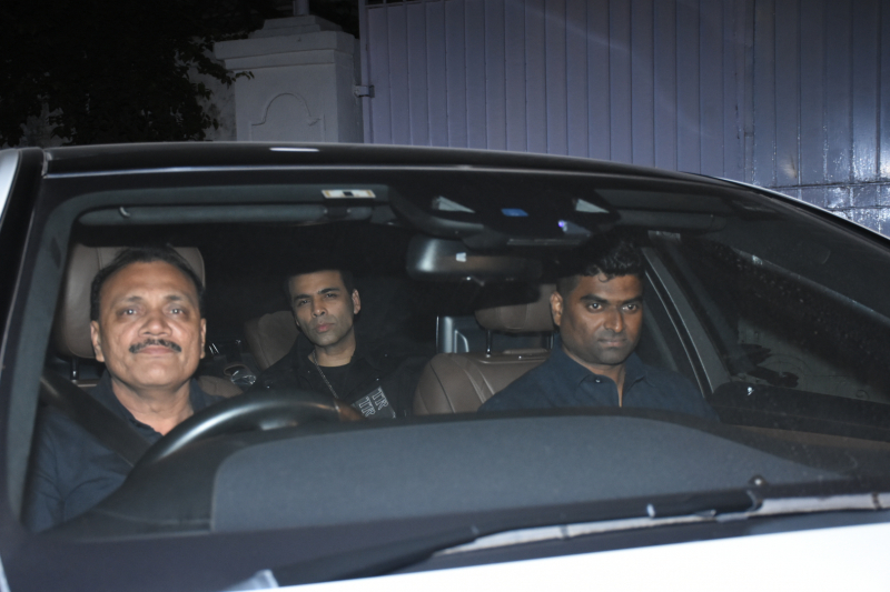 Karan Johar at Siddharth Malhotra birthday party.