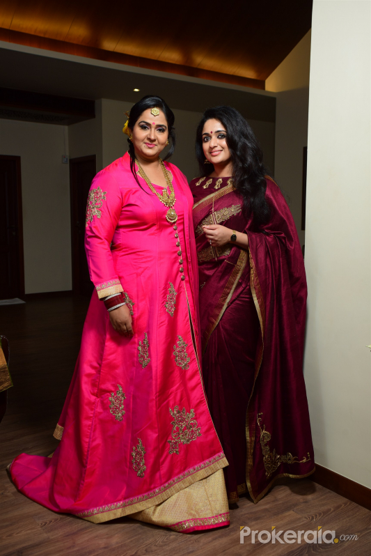 Kavya madhavan @ Actress Radha 25th year Wedding Anniversary