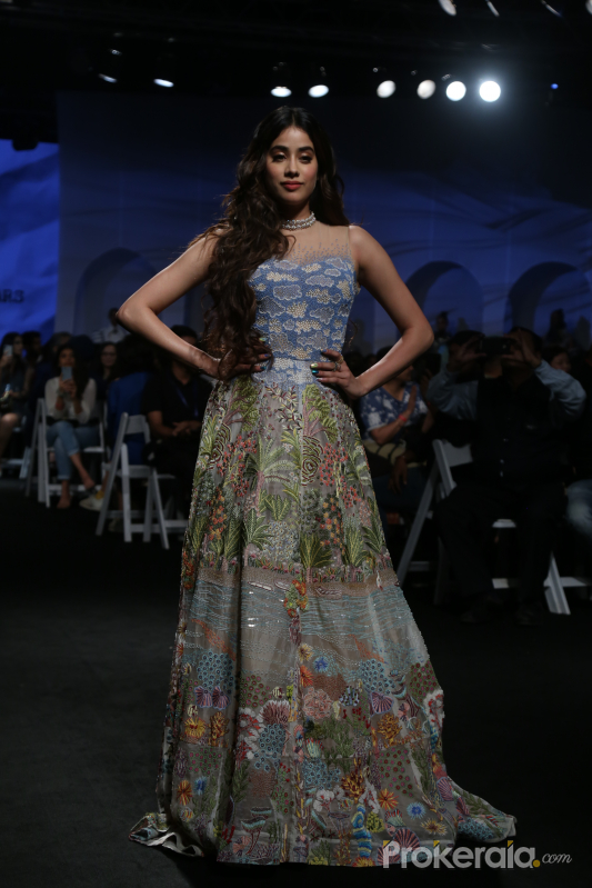 Actress Janhvi Kapoor at Lakm'e Fashion Week opening Event